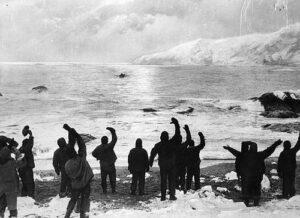 Bild der Antarktis-Expedition 1915