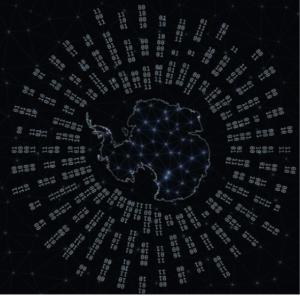 Bild der Antarktis-Digitalisierung