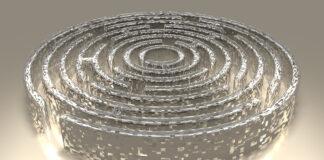 Bild eines Labyrinths
